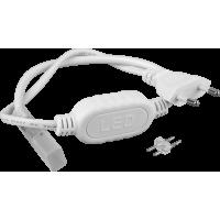 Кабель живлення для led NEON 220В 3528-120 8 * 16mm IP65 220В до 100м