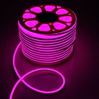 Світлодіодний NEON SMD2835-120 8W розовий 220В