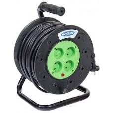 Бобіна ПРОФІ 30м з кабелем (2 * 1,5 без з / к) Svitex