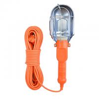 Лампа переносна пластикова 20м 250В 100Вт вимикач на корпусі
