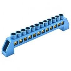 Шина нульова в ізоляторі універсальна HCD 6 * 9 мм 12 отворів