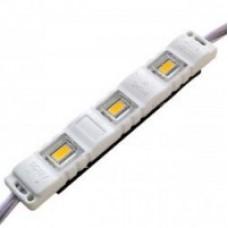 Світлодіодний модуль 5630-3 led 1.5W 6500K 12В IP65 білий закритий з лінзою Biom