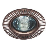 Вбудований світильник Feron GS-M369 коричневий