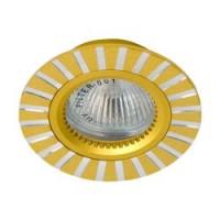 Вбудований світильник Feron GS-M364 золото