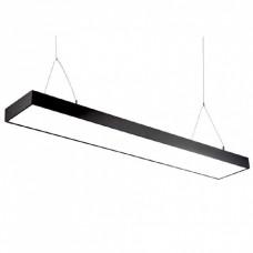 Світильник світлодіодний Sign-48 підвісний лінійний на тросах 48Вт 4200К чорний