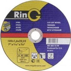Диск відрізний по металу RinG 180х2.0х22,23