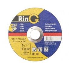 Диск відрізний по металу RinG 125х1,0х22,23