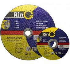 Диск відрізний по металу RinG 230х2.0х22,23