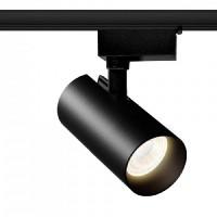 Трековий світильник Accente A-10-01 10Вт 4200К чорний