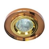 Вбудований світильник Feron 8060-2 темне золото
