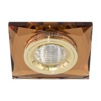 Вбудований світильник Feron 8150-2 темне золото