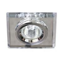 Вбудований світильник Feron 8170-2 срібло