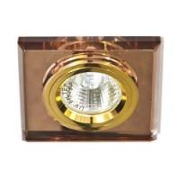 Вбудований світильник Feron 8170-2 темне золото