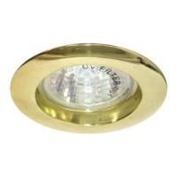 Вбудований світильник Feron DL307 золото