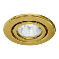 Вбудований світильник Feron DL11 золото