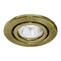 Вбудований світильник Feron DL11 античне золото