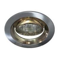 Вбудований світильник Feron DL2009 титан-золото