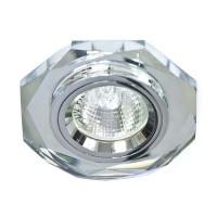 Вбудований світильник Feron 8020-2 срібло