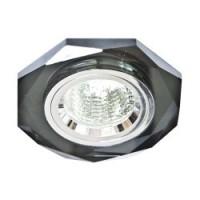 Вбудований світильник Feron 8020-2 сірий