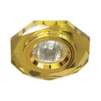 Вбудований світильник Feron 8020-2 золото