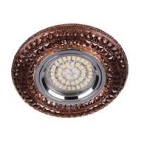 Вбудований світильник Feron CD877 з LED підсвічуванням золото