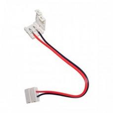 Конектор для світлодіодної стрічки 10mm провід- два зажими