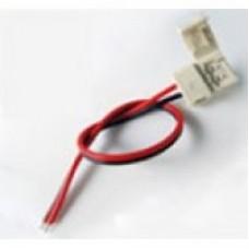Конектор для світлодіодної стрічки 10mm зажим-провід