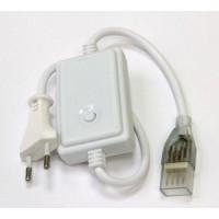 Кабель живлення для світлодіодної стрічки 220В RGB 5050