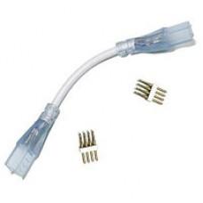 Конектор для світлодіодної стрічки 5050/3014 220В два роз'єми провод 2pin