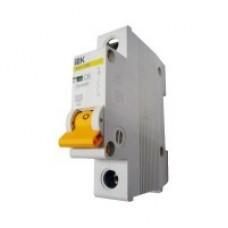 Автоматичний вимикач ВА47-29 1P 50A 4,5кА х-ка C ІЕК