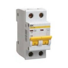 Автоматичний вимикач ВА47-29 2P 4A 4,5кА х-ка C ІЕК