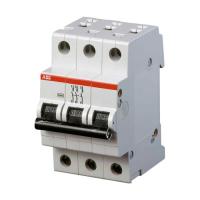 Автоматичний вимикач АВВ SH203 3P 6А C