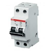 Автоматичний вимикач АВВ SH202 2P 6А C