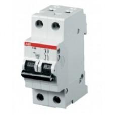 Автоматичний вимикач АВВ BASIC SH202 2P 16А C