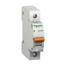 Автоматичний вимикач Schneider ВА63 1р 10А