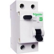 """Диф. автомат. вимикач Schneider EZ9 1Р + N 10А 30мА """"АС"""""""