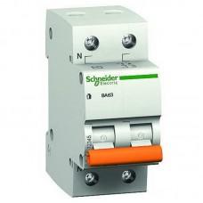 Автоматичний вимикач Schneider ВА63 2р 10А