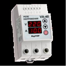 Реле напруги з контролем струму VA-40