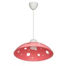 Світильник ERKA 1302 60W Е27 стельовий рожевий