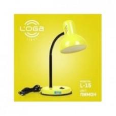 """Настільна лампа ТМ LOGA Light L-15 """"Лимон"""""""