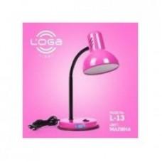 "Настільна лампа ТМ LOGA Light L-13 ""Малина"""