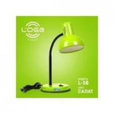 "Настільна лампа ТМ LOGA Light L-16 ""Салат"""