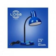 """Настільна лампа ТМ LOGA Light L-7 """"Волошка"""""""