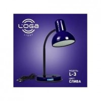 """Настільна лампа ТМ LOGA Light L-3 """"Слива"""""""