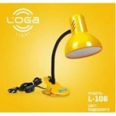 """Настільна лампа ТМ LOGA Light L-106 """"Соняшник"""""""