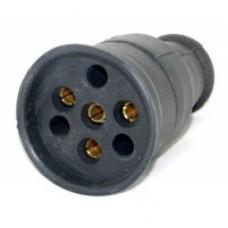 Гніздо силове каучук 25А 380V tpelectric
