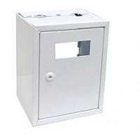 Ящик металевий для лічильника газу (тип G1,6; G2,5; G4) (290х230х185) без задньої стінки