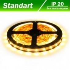 Світлодіодна стрічка 12В B-LED 3528-60 IP20 жовтий