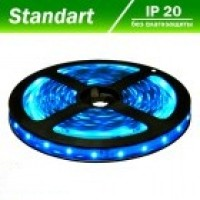 Світлодіодна стрічка 12В B-LED 3528-60 IP20 синій