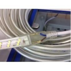 Світлодіодна стрічка SMD 2835-180 8W 220В теплий білий 1м